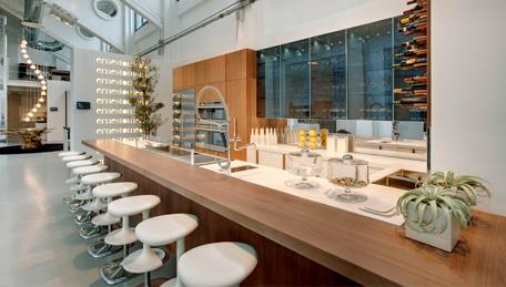 Restaurantes con Parquet y Suelos de Madera